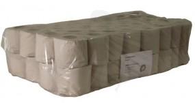 Toilettenpapier, 1-lg., natur Krepp, 250 Blatt 9,5x11,5cm 28g/m³ perforiert -Kleinrolle-
