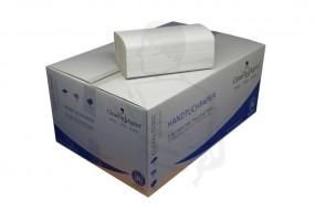 Handtuchpapier 25x23 natur/hell 1lg. ZickZack (ZZ) V-Falz CLEANAGENT 41g/m²