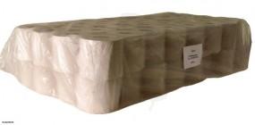 Toilettenpapier, 1-lg., Krepp, 400 Blatt 10x12,5 ,35g/m³, perforiert -Kleinrolle-