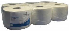Toilettenpapier Grossrolle hochweiss SmartTop 207m 3,4cmbreit Blatt 24cm ca.1150 Blatt(Innenzug)D19c