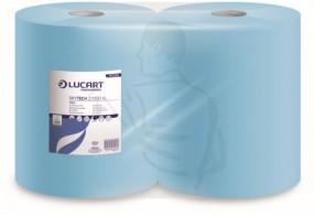 Putzpapierrolle, Recycling 2lg., 36x36,1000 Blatt Farbe blau, 2x36 g/m³, sehr saugfähig (360m)
