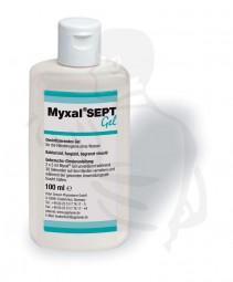 Haut,- Händedesinfektion Myxal®-SEPT Gel, 100ml alkoholische Händedesinfektion, parfümfrei