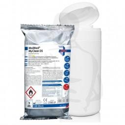Flächendesinfektion- und Reinigunstücher 120Stück in einer Spenderdose