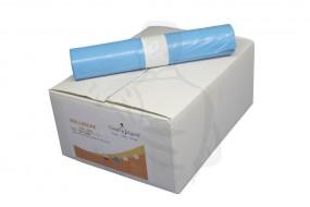 Müllsäcke, Reg.Typ60 700x1100(120 Liter) Standard, aus LDPE Material, blau, echte 33mµ