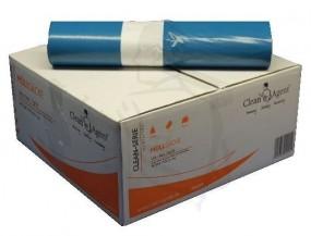 Müllsäcke,Typ70 700x1100(120 Liter) aus LDPE, blau, sehr stabil, echte 60mµ