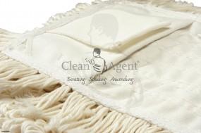 Bezüge KOMBI Schlinge/Franse, 40 cm Baumwolle, gewebt, TopQualität