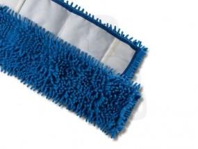 Microfaserbezüge Chenile, blau, 40 cm geeignet für unebene Oberflächen (Igel)