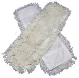 Bezüge getuftet, weiss, Schlinge/Franse 50 cm Baumwolle/Polyester