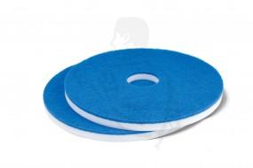 Melaminharzsuperpad weiß/blau 50,8cm/20