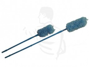Staubwedel XL Synthetik, farbig, max. 170 cm mit ausziehbarem Teleskopstiel