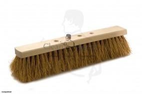 Beco Kokosbesen, 4-Loch, 40 cm Holzkörper Flachholz, unlackiert
