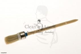 Ringpinsel/Malerpinsel helle Chinaborste mit weißen doppelten Fadenvorband Gr.2