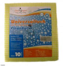 Universaltuch, GELB, 145 g/m², 35x40 kariert, mit leichten Reinigungsnoppen