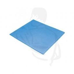 Schwammtuch, blau, feucht, 18x20 textilverstärkt, kochfest,sehr saugstark