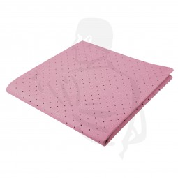 Fenstertuch, gelocht, rosa, 38x38 (Gebäudereinigungstuch), perforiert