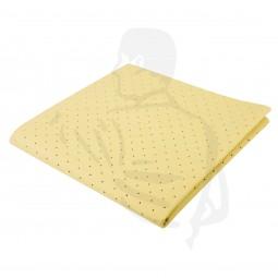Fenstertuch, gelocht, gelb, 38x38 (Gebäudereinigungstuch), perforiert