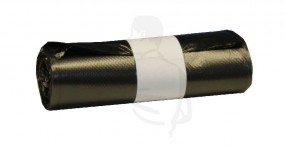 Müllbeutel HDPE 500x600 (30Liter)-Rollenware- grau 8µm speziell geeignet f Papierkörbe