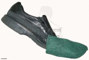 SuperPadShoe (Padsohle) mit Gummihalter GRÜN(mittelhart)f. die Zwischenreinigung