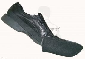 SuperPadShoe (Padsohle) mit Gummihalter SCHWARZ (hart) für die Grundreinigung