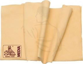Fensterleder klein, 5,0qfs, 80x60cm Fellform Qualitätsstempel Plumebrand