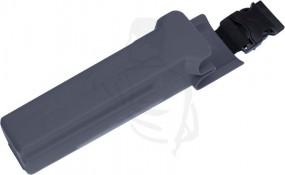 Kunststoffköchermit abnehmbaren Klickverschluss blau, -Lewi- Werkzeughalter zum Anbringen