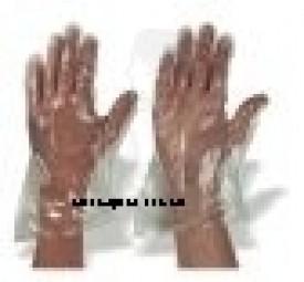 Einmalhandschuhe PE, Größe L (Herren) gehämmert, unsteril transparent (100er)