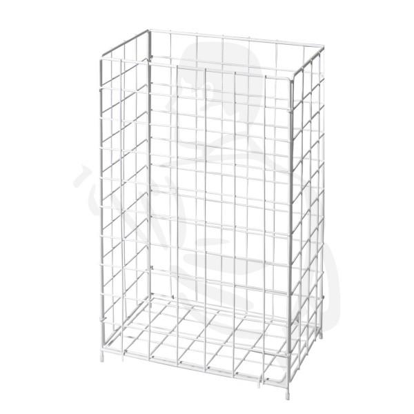 Drahtgitterkorb, weiß, 36x60x26, groß speziell geeignet für ...