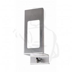 Verschlussplatte aus Aluminium 500ml passend zu 500ml ALU-Spender H202xB77