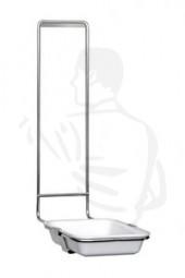 Abtropfschale mit Bügel (Halter aus Aluminium) Schale aus Spezialkunststoff für Spender 1Liter