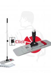 Klapphalter Wischset 40cm 3-tlg. Klapphalter MagicClick40cm/Teleskopstiel/Mopp