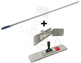Wischset 40cm bestehend aus: Klapphalter Magnet 40cm + Aluminiumstiel 1,40m