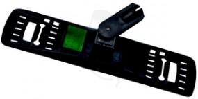 Klapphalter VERMOP grün Sprint Plus 40cm aus Kunststoff für einstufiges Wischen