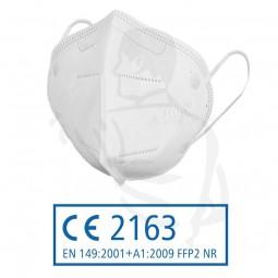 Filtrierende Staubmaske CE zertifiziert FFP2 gegen gifte, feste und flüssige Partikel CE2163