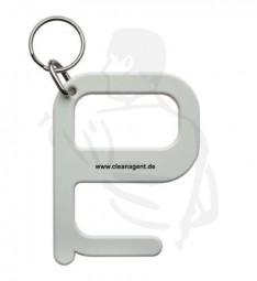 Hygiene Universalschlüssel aus Kunststoff, weiß für die kontaktarme bis kontaktlose Bedienung