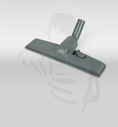 Teppich und Bodendüse passend für CV100/200/300 aus schwarzem Kunststoff, umschaltbar, 40cm