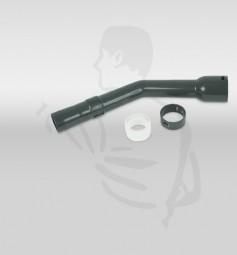 Handrohr (gebogenes Rohr) gekrümmt für CV300 aus Kunststoff, grau