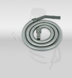 Schlauch 3m, komplett für CV300 aus grauem Kunststoff mit Anschluß
