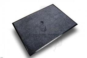 Schmutzfangmatte, anthrazit, 90x120 hervorragend geeignet um Feuchtigkeit