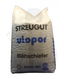 Streugut Blähschiefer Körn.1-5, 27kg/40L -das umweltfreundliche Winterstreukorn-
