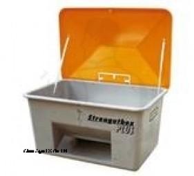 Streugutbehälter mit Entnahme 200 L Behälter sind absolut korrosions-