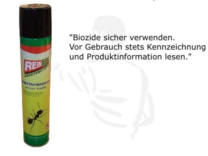 ameisenspray 400 ml spray gegen ameisen im haus insekten ungeziefervernichter. Black Bedroom Furniture Sets. Home Design Ideas