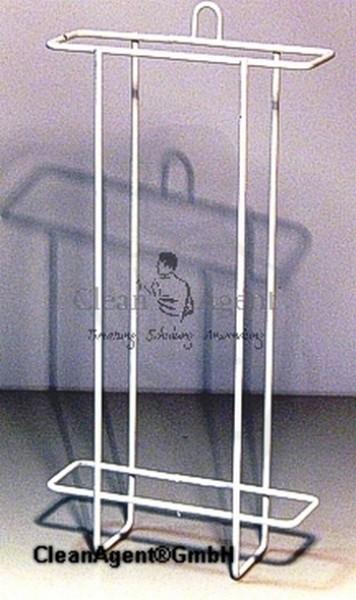 hygienenbeutelhalter wei b110xt55xh270mm drahtgestell beschichtet zum schrauben. Black Bedroom Furniture Sets. Home Design Ideas